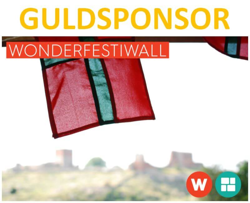 Fugato er Guldsponsor for Wonderfestiwall i Allinge